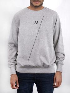 M-sweater grijs—M